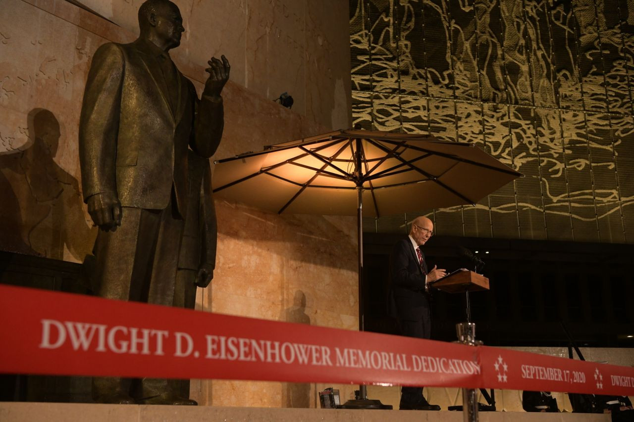 Twenty-One Years in the Making: Dedicating the Dwight D. Eisenhower Memorial