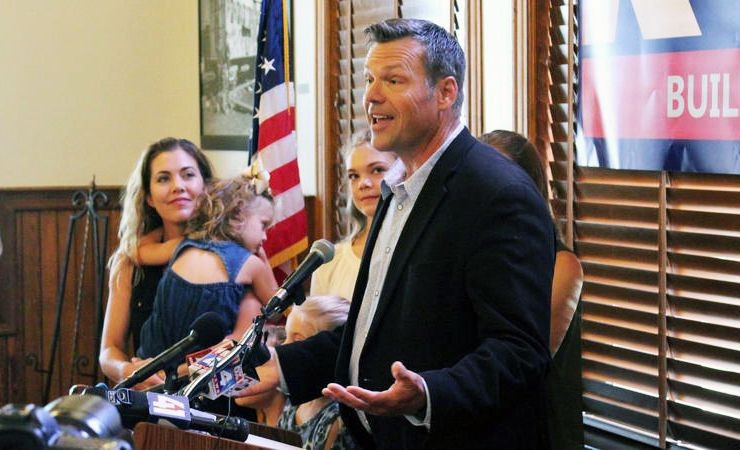 Kobach Is Back And Running For Senate